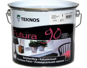 Teknos Futura 90/Текнос Футура 90 Универсальная краска