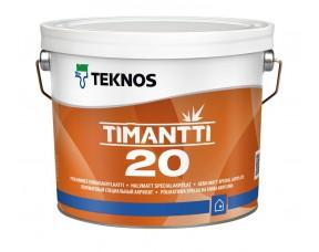 Teknos Timantti 20/Текнос Тимантти 20 Полуматовый специальный акрилат