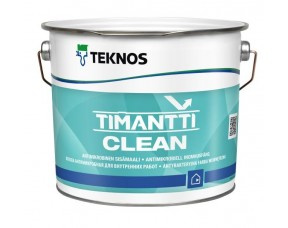 Teknos Timantti Clean/Текнос Тимантти Клин Антимикробная краска