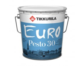 Tikkurila Euro Pesto 30 / Тиккурила Евро Песто 30 эмаль полуматовая