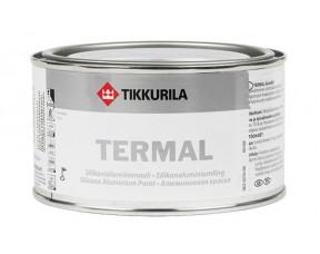 Tikkurila Termal silikonialumiinimaali/Тиккурила Термал Эмаль серебро