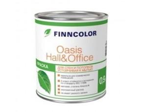 Finncolor Oasis Hall & Office краска для стен и потолков устойчивая к мытью