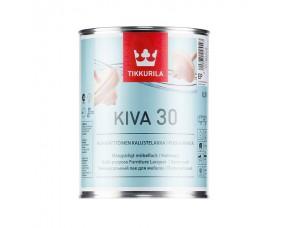 Tikkurila Kiva 30 / Тиккурила Кива 30 лак для мебели полуматовый