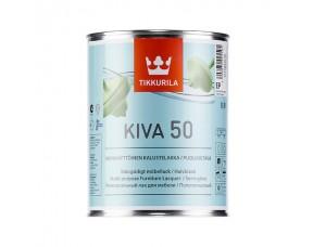 Tikkurila Kiva 50 / Тиккурила Кива 50 лак для мебели полуглянцевый