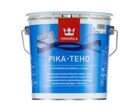 Tikkurila Pika-Teho / Тиккурила Пика-Техо (база С) краска для деревянных фасадов