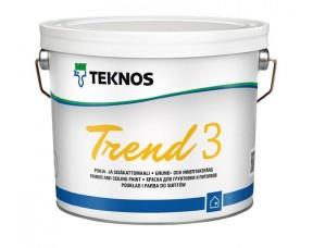 Teknos Trend 3/Текнос Тренд 3 Краска для стен и потолков