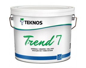 Teknos Trend 7/Текнос Тренд 7 Краска для стен