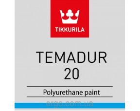 Tikkurila Temadur 20/Тиккурила Темадур 20 (Комплект: краска+отвердитель)