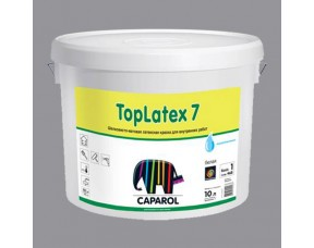 Caparol Toplatex 7/Капарол Топлатекс 7 Латексная краска для больших нагрузок